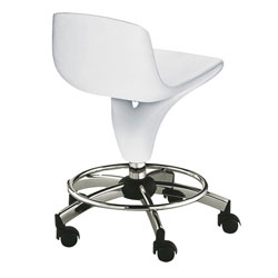Tabouret Flash Blanc