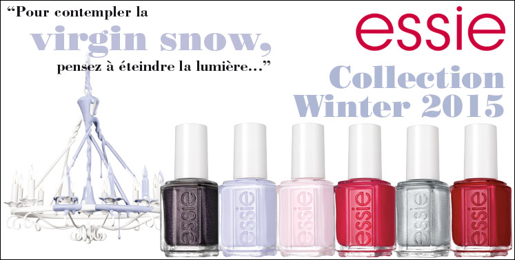D�couvrez la collection essie Winter 2015